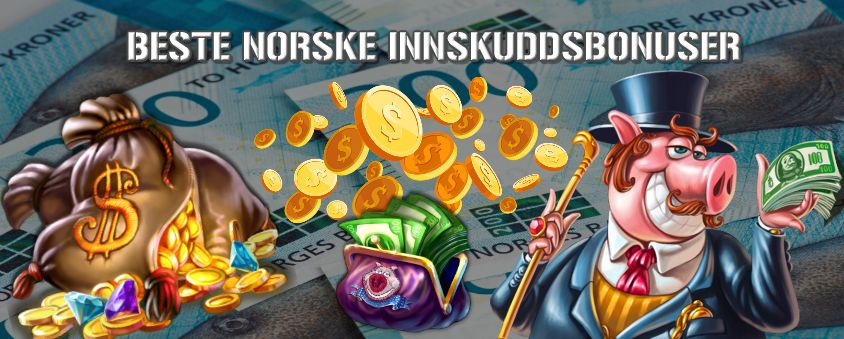beste norske innskuddsbonus